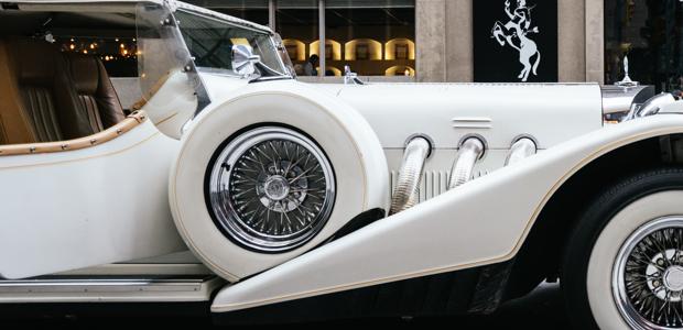 White oldsmobile