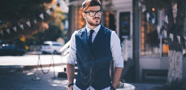 Man in vest